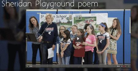 Sheridan Playground Poem
